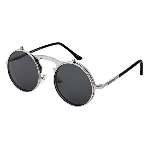 Great festival accessories these retro sunglasses are great sun glassess men and women will love, in a funky sunglasses style with a keyhole nose they are also comfortable to wear The perfect punk accessories they have been used as rave glasses and s...