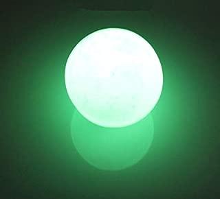Dalas 35mm Green Glow in The Dark Calcite Glow in Luminous Crystal Ball The Dark Stone Ball Sphere Healing