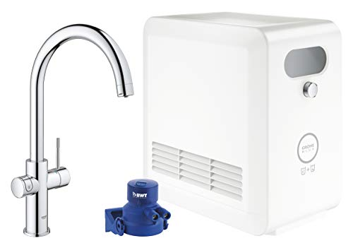 Grohe 31323002 31323002-GROHE Blue Professional Kit caño en C, cromo