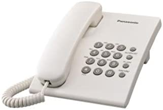 Tel/éfono Fijo con Cable; Manos Libres; Gran pantall de Alta Visibilidad; Compatible con audifonos; Color Negro; DL580