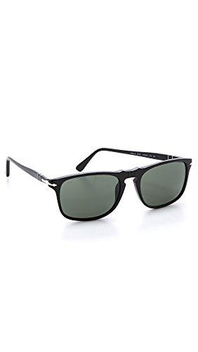 Persol Po3059s Gafas de sol, Negro (Black/Grey), 54 para Hombre