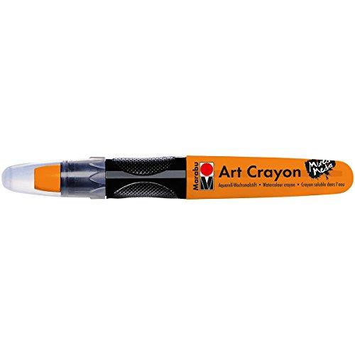 Marabu 01409003013 Creative Art Crayons, Orange