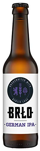 BRLO German IPA Craft Beer 0,33 Liter