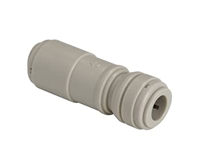 "Advanced Technolgy Products HCVU1/2-1/2 Fluidfit Push-to-Connect Fitting, Check Valve, 1/2"" x 1/2"", 1 Each, 0.500"" ID, POM by Advanced Technolgy Products"