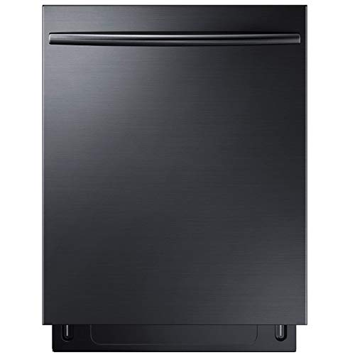 """Samsung Appliance DW80K7050UG 24"""" Black Stainless Steel Series Built In Fully Integrated Dishwasher in Black Stainless Steel"""