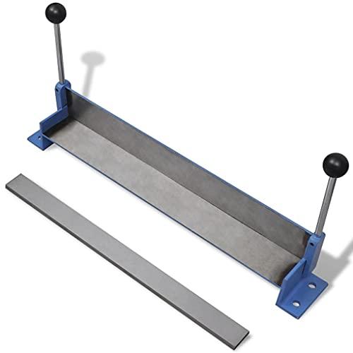 WUTINGKONG Máxima Espesor de la Chapa: 0,8 mm Máquina plegadora Manual de Placas de Acero, 450 mm