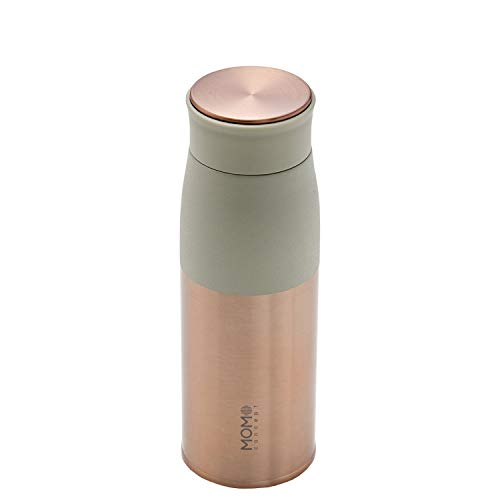 MOMOCONCEPT(モモコンセプト)水筒真空断熱軽量ルピナスタンブラーRG400mlローリエグリーン01002-29045