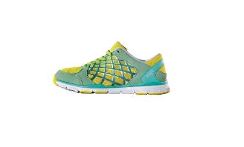 Crivit Damen Laufschuhe Fitness Schuhe Sportschuhe Trainingsschuhe Top Qualität NEU (37 EU, Gelb-Türkis)