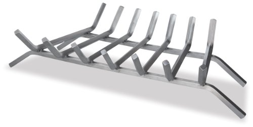 Save %21 Now! Uniflame 30-InchStainless Steel Fireplace Grate w Seven Bars