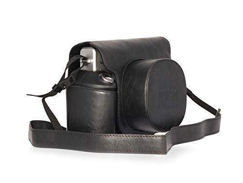 Fujifilm Instax Wide 300 Schutzhülle aus Kunstleder, Schwarz