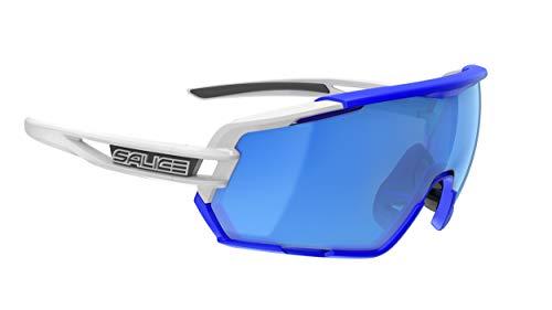 Salice 020 RW Sonnenbrille, weiß/blau, one Size