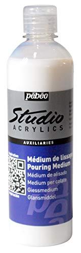 PEBEO - Médium de Lissage Pouring et Vernis Flacon de 500 ml