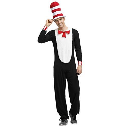 ZXY Disfraz del Da Mundial del Libro Cosplay para Adultos Disfraz Unisex Fiesta Disfraz de Halloween Accesorio de Disfraz de Escenario Prop Traje de Cosplay,Male