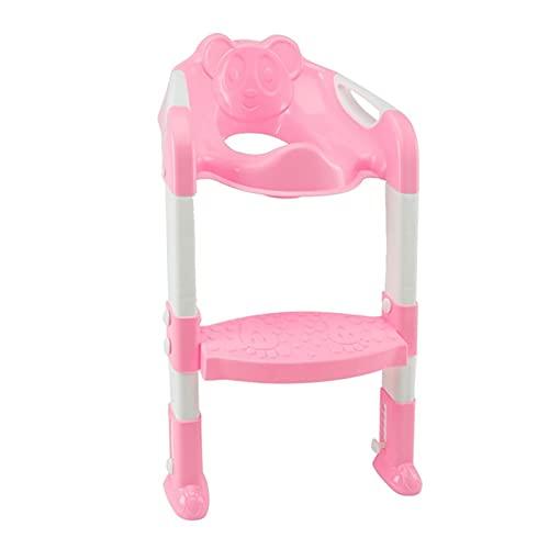 BEIMODZ KIDS POTTY FOLDING BABY POTTY INFANT TOILET TRAINING SEAT ADJUSTABLE LADDER PORTABLE URINAL POTTY TOILET SEAT RING FOR KIDS UNIVERSAL (색채 : 04)