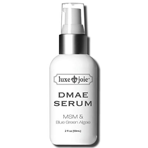 DMAE MSM Facial Serum 2 oz Lifts Tightens Plumps Firms For Dry Skin Reduce Wrinkles Lines Sagging Anti-Aging