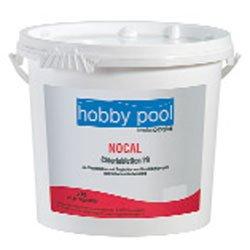 Hobby Pool Nocal- schnell lösliche Chlortabletten 20g 5kg Eimer HP