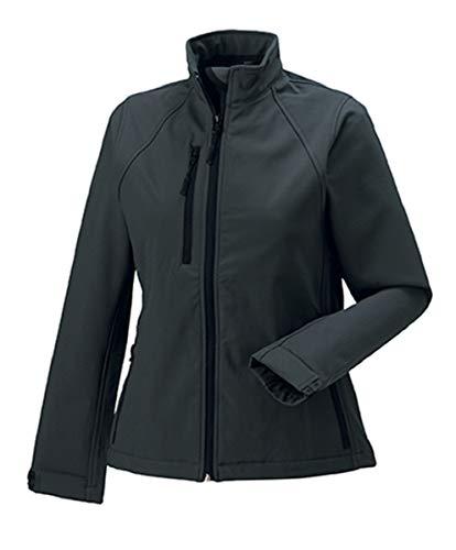 Russell Damen Softshell Jacke, Größe:2XL, Farbe:Titanium