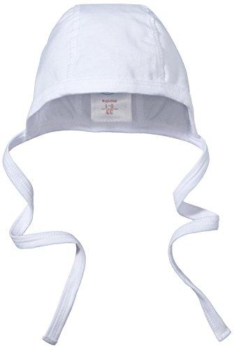 Sterntaler Unisex Häubchen mit Bindeband, Alter: ab 0 Monate, Größe: 35, Weiß