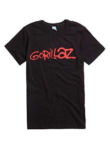 Hot Topic Gorillaz Logo T-Shirt Black SM