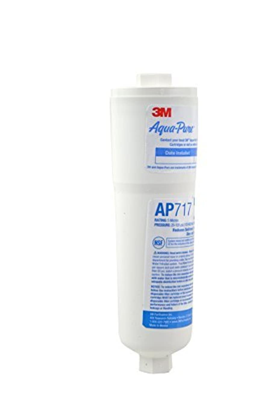 Aqua-Pure AP717 Drinking Water System Filter with Triple Action Filtration by AquaPure