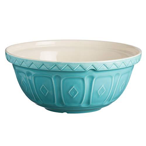 Mason Cash Cuencos para Preparar Alimentos, cerámica, Turquesa, 4 Litre/29 cm