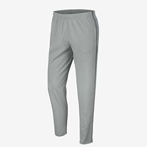 NIKE BV4840-077 M NK Run Stripe Woven Pant Pants Mens lt Smoke Grey/Smoke Grey/(Reflective silv) S