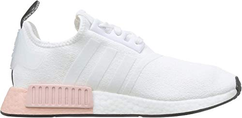 adidas Herren NMD_r1 Gymnastikschuhe, Weiß (FTWR White/FTWR White/Vapour Pink FTWR White/FTWR White/Vapour Pink), 46 EU
