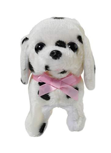 Home-X Plush Dalmatian Pup, Electric Dog Toys, Interactive Pets, Stuffed Animals