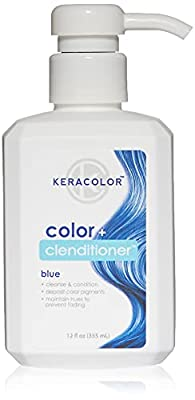 Keracolor Clenditioner Hair Dye (18 colors) Semi Permanent Hair Color Depositing Conditioner, Cruelty-free