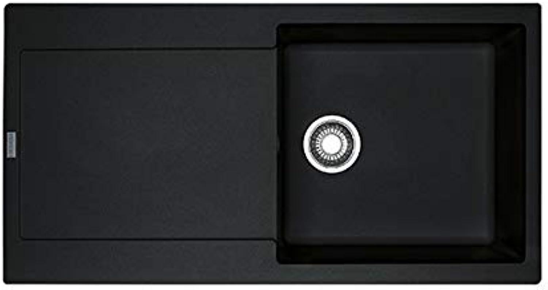 Franke Maris MRG 611-L–KITCHEN SINKS (schwarz, 450x 425mm)