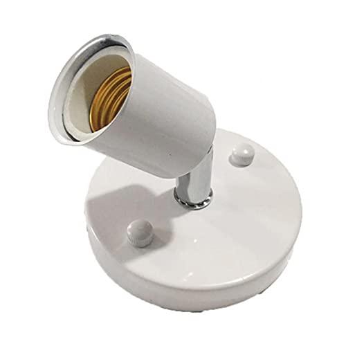 MOVKZACV Soporte de lámpara para DIY lámpara colgante bombilla Socket adaptador para E27