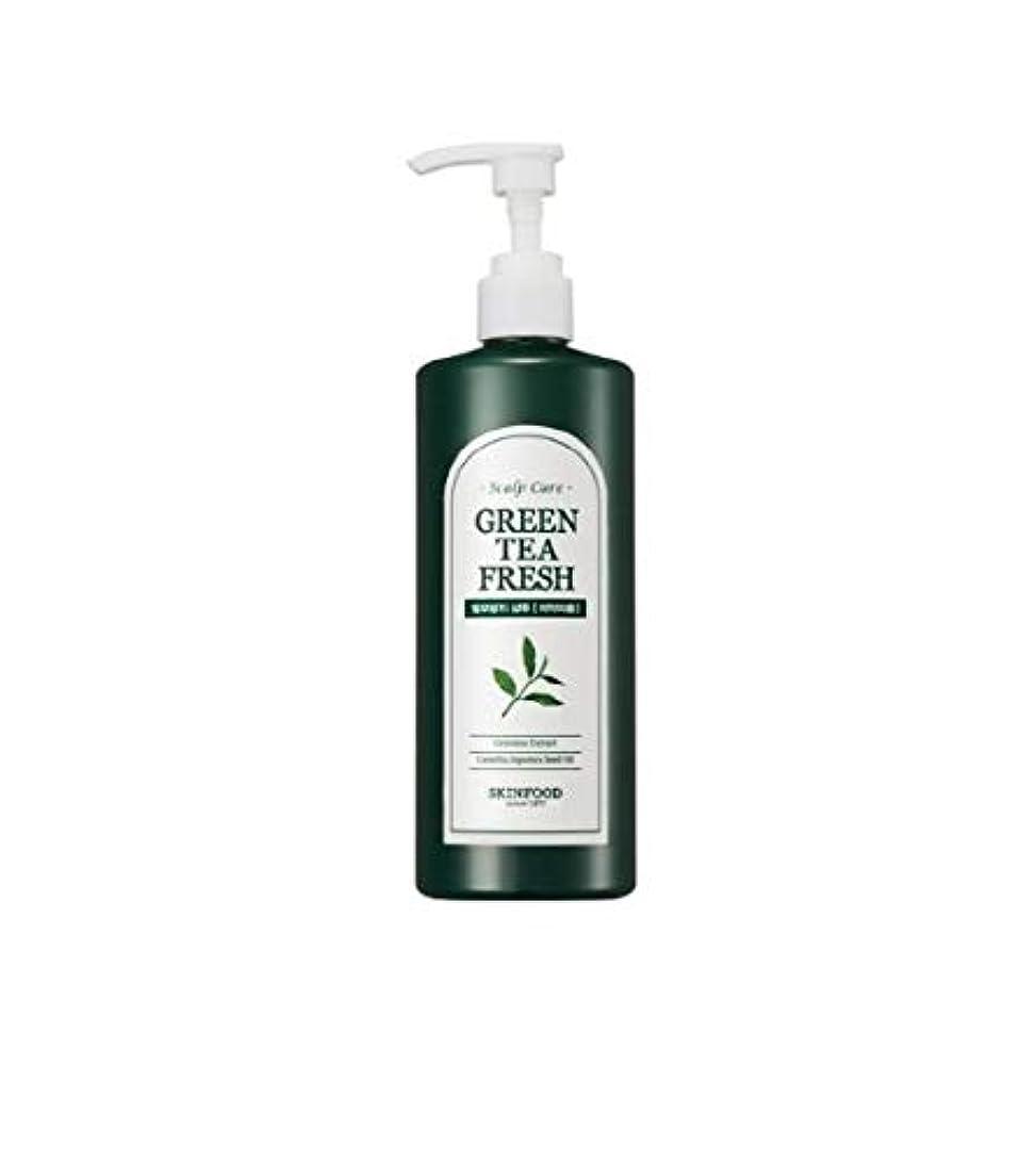 運賃モルヒネ一時停止Skinfood グリーンティーフレッシュシャンプー/Greentea Fresh Shampoo 400ml [並行輸入品]