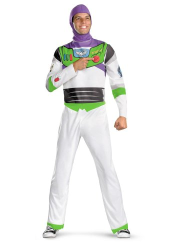 ?? Disney Toy Story - Buzz Lightyear Adult Plus Costume Disney Toy Story - Buzz Lightyear Adult Plus Costume Halloween Size: XX-Large (50-52) (japan import)