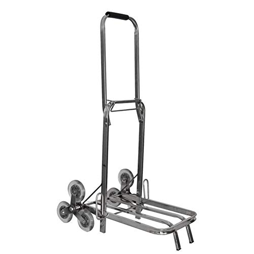 QIANGDA Sackkarren klappbare Multifunktionswagen Mit Rollenden Rädern Treppenwagen Tragbarer Picknickwagen Faltbar Rollender Versorgungswagen - 130kg Beladen