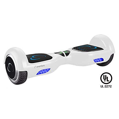 SmartGyro X2 UL v.3.0  Carbono - Potente Patinete Eléctrico, Ruedas de 6.5'...