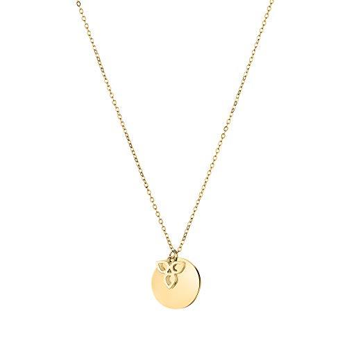 Tamaris Damen Halskette in Gold aus Edelstahl TJ-0020-N-45