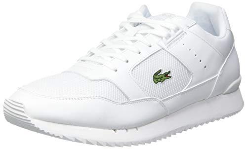 Lacoste Herren Partner Piste 0721 1 SMA Sneaker, Wht Wht, 42.5 EU