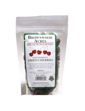 Premium Michigan Montmorency Dried Cherries by Brownwood Acres  Slightly Sweetened  NonGMO Gluten Free Kosher Certified All Natural Healthy Snack Alternative 1/2 Pound