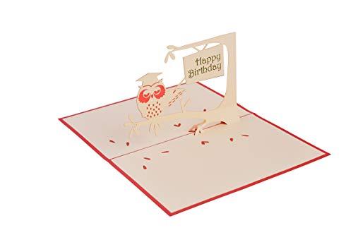 3D-Karte und Quilling-Karte Handgemachte Grußkarte (Geburtstagskarte, Liebeskarte, Dankeskarte, Valentinskarte, Tierkarte, Blumenkarte, Grußkarte usw.)