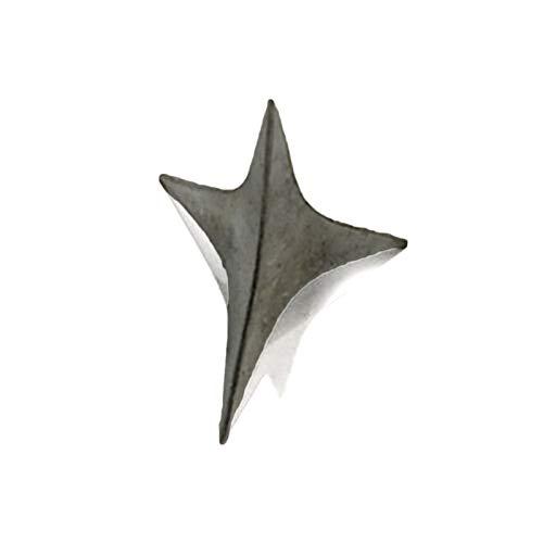 no-branded KYY8737 LCMUS - Clavos para pinchazos de neumáticos triangulares (10 unidades)