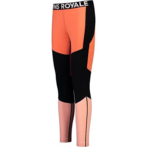 Mons Royale Leggings a 3/4 Olympus Donna, High Vis, XS