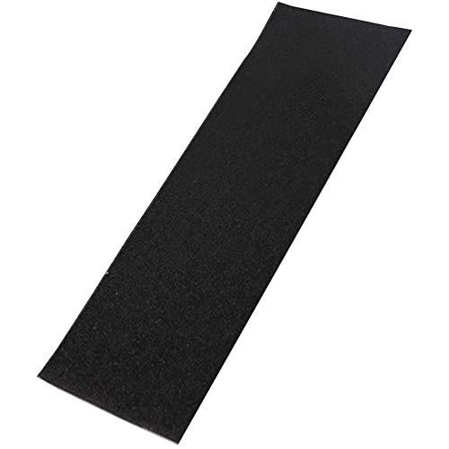 Kuinayouyi PVC Wasserdichtes Skateboard Deck Sand Papier Griff Band Griptape Skaten Scooter Aufkleber 84X 23CM Schwarz