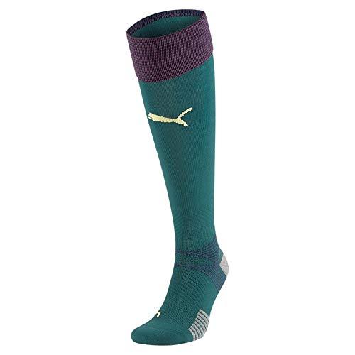 PUMA Team FIGC Third Replica Socks, Calzettoni Calcio Uomo, Ponderosa Pine/Peacoat, 4