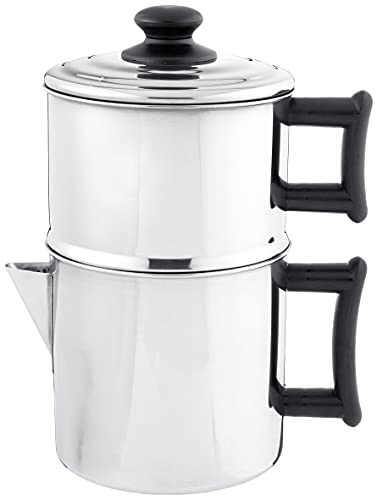 Lindy's 49W Stainless Steel Drip Coffee Maker With...