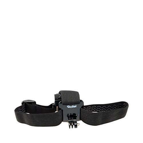 Rollei Kopfband – Head Strap für Rollei Actioncam 200 / 300 / 400 und 500 Serie und GoPro Hero Modelle - Schwarz