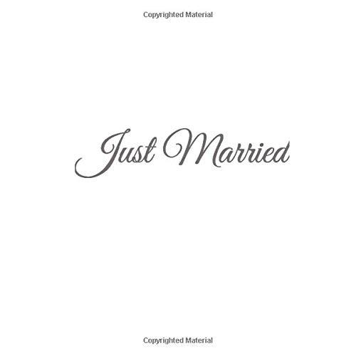 Just Married: Libro degli ospiti Just Married Guest book per Matrimonio accessori idee nozze fratello sorella sposi sposa donna uomo matrimonio ... (Libro degli ospiti Just Married Matrimonio)