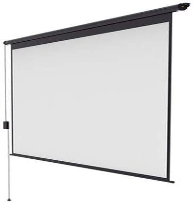 GELEI Electric Projector Screen, High-Definition Wireless Remote Control Projection Screen,Home Cinema/Theatre,16:9,60 inch