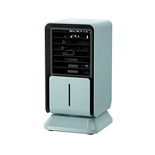 Ventilador De Refrigeración Mini Aire Acondicionado Mini Escritorio Mini Ventilador Verde