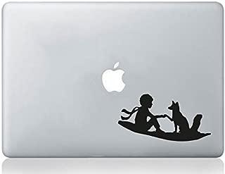 Ordinateur Portable Autocollant Ballerine dansante Silhouette MacBook pour Ordinateur Portable Autocollant Skin en Vinyle Stickers muraux Art