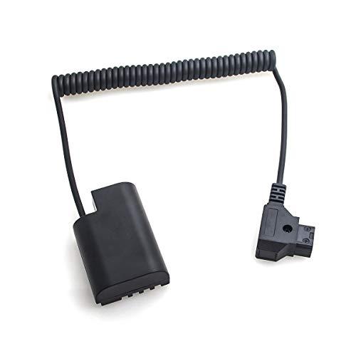 Fotga Cable Adaptador de alimentación Extensible para Conector D-Tap a batería ficticia...